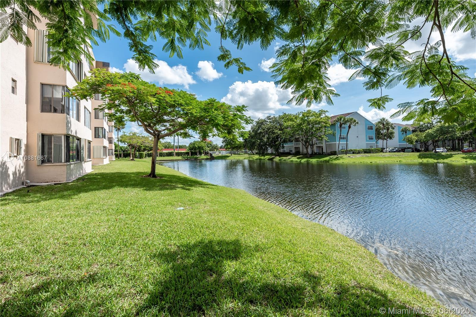 Enjoy tranquil lake views from this bright and spacious remodeled condo!  Updated Kitchen with granite counter tops and stainless steel appliances.  Updated bathrooms and a HUGE laundry room. Unit has walk-in closets and tile floor throughout.  Located on the 3rd Floor Unit is close to the Elevator and Stairwell.  A resort-style setting with two pools which one is heated and a garden area to relax.  Break a sweat on the tennis courts or in the gym which are just part of this resort-style living.  Park and recreational areas are just 5 minutes away.