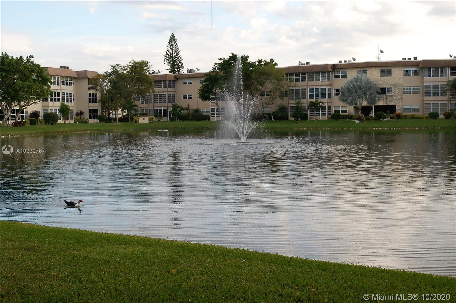 BEAUTIFULL 2 BEDROOMS WITH LAKE VIEW,THIRD FLOOR ,FULLY FURNISHED.CERAMIC FLOOR THROUGHOUT THE UNIT.BATHROOMS COMPLETELY REDONE.INTERNET AND CABLE IS INCLUDE IN THE HOA FEE. THIS HOPA COMMUNITY OFFERS POOL,GYM,LIBRARY, SHUFFLEBOARD ,BACCI BALL,BILLARD TABLE,COMMUNITY ROOM.A MUST SEE !