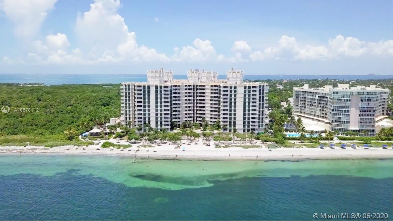 Spacious beachfront 1 Bed 1 Bath 1/2 bath apartment with concrete floors throughout and a 97 SF terrace facing the garden. The building amenities include: beach access, pool, gym, tennis courts, beach gazebo, bbq area, party room, billiard room, poker room, toddler's playroom, and beach services.