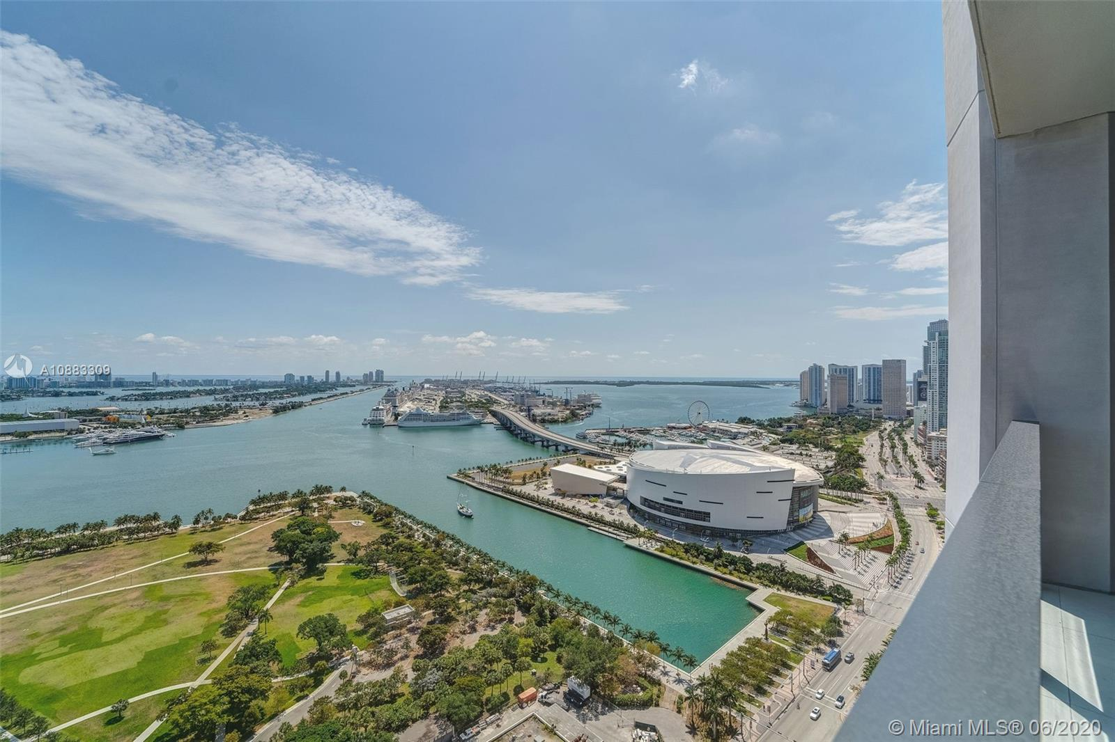 1000  Biscayne Blvd #3302 For Sale A10883309, FL