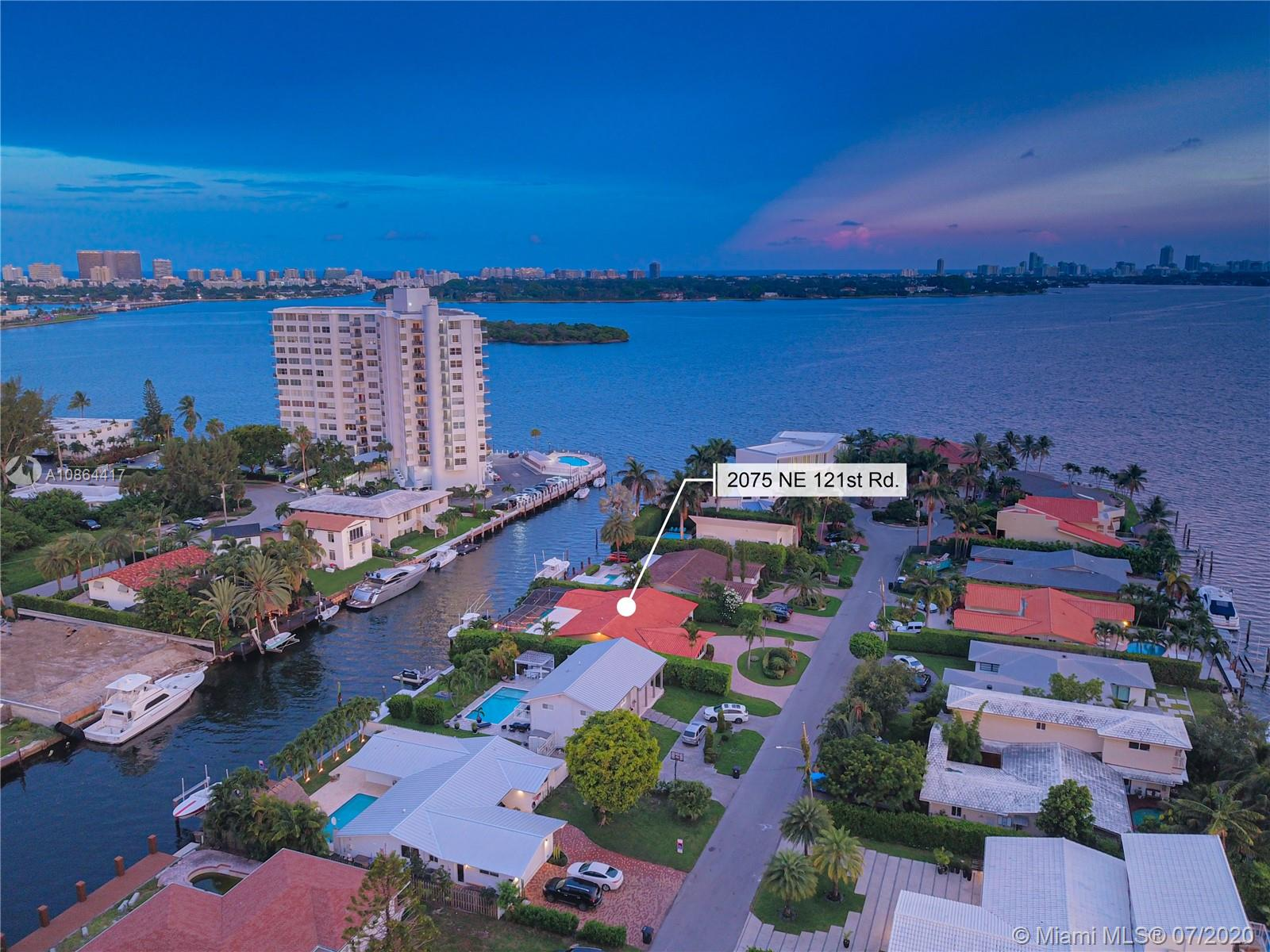 2075 NE 121st Rd  For Sale A10864417, FL