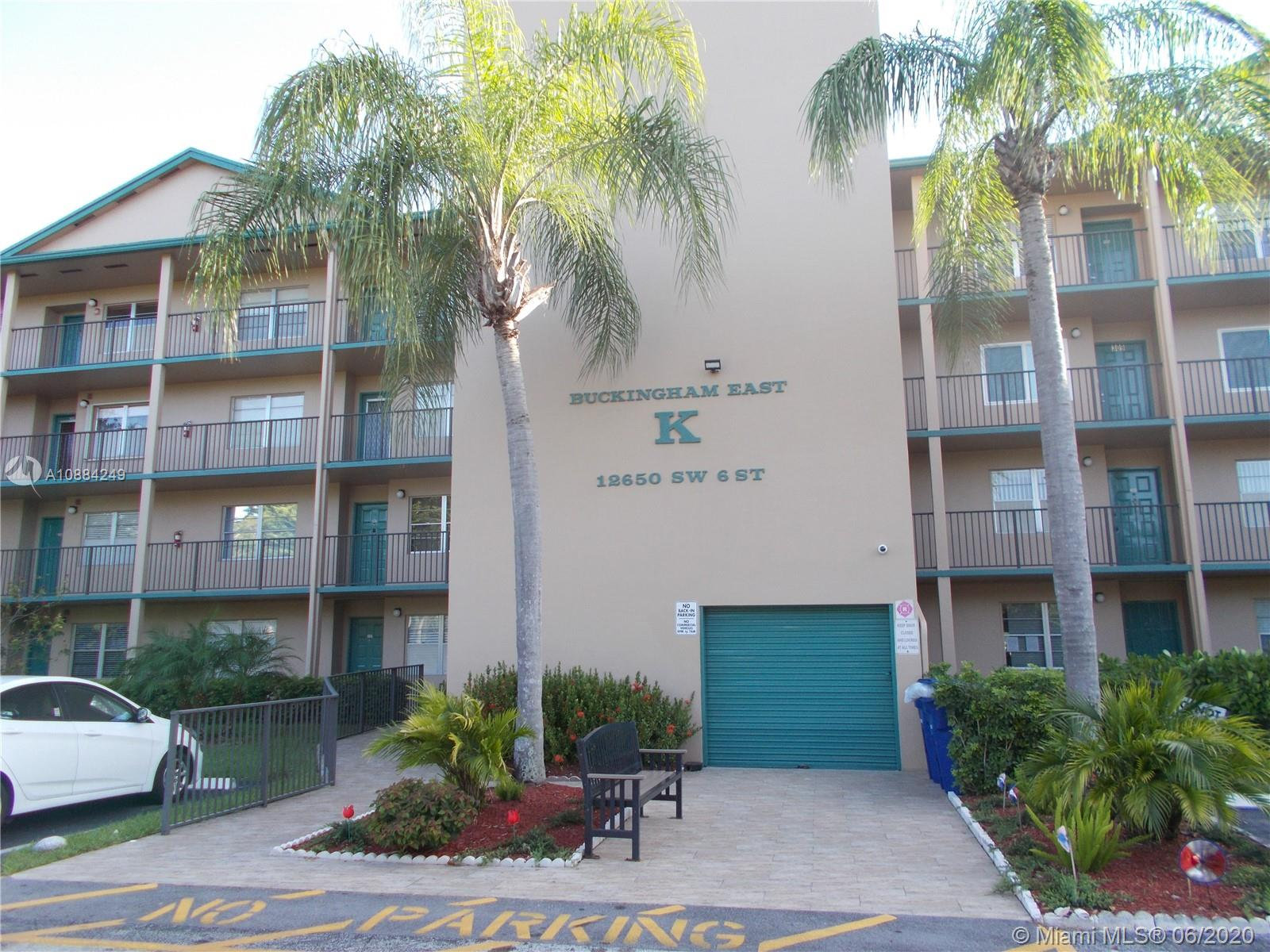 12650 SW 6th St #414K For Sale A10884249, FL
