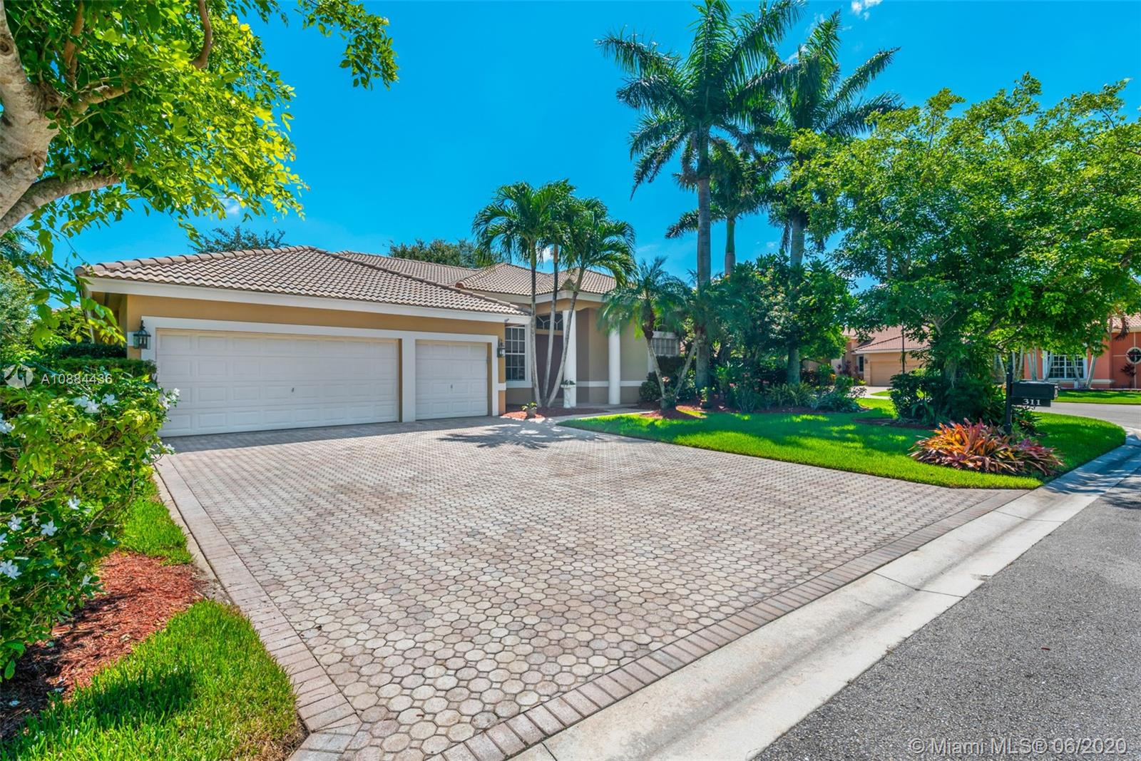 Come and tour this beautiful one story pool home in the gated community of Mariner's Cove. This wonderfully maintained, open concept home offers 4 beds, 2.5 bath, formal dining room, living room, 3 car garage and open kitchen with a view of your pool & covered patio.