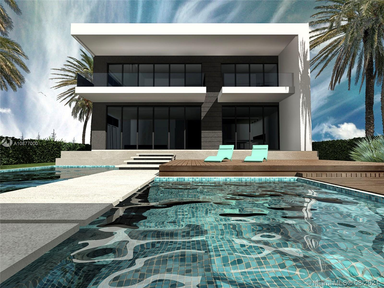 Architecturally stunning luxury home under construction available Fall 2020! Perfectly situated on a quiet street along the prestigious Miami Beach Golf Club. This two-story 5 BD / 5.5 BA home boasts 4,375 SQ FT of living area and spares no details. Enjoy seamless indoor/outdoor living spaces, high ceilings, and natural light throughout. Amenities include an outdoor pool and deck, spacious den, balconies, two-car garage, lush landscaping, and an expansive rooftop terrace overlooking the pool area and the Miami Beach golf course that is perfect for entertaining! Take advantage of this exciting opportunity to own this newly constructed 5,304 SQ FT home on 10,400 SQ FT Lot. Due for completion in a month.