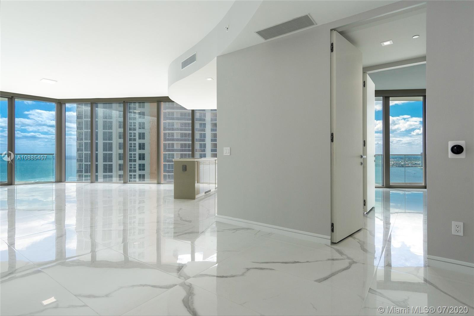 Italian finest Design met Miami's Ultra luxury. Residences by Armani will delight you with its style. This 2022 SF, residence is located in the south-east corner, best line of the building featuring unobstructed Ocean. 2 Bed+Den+2½ Bath.State of the Art amenities are endless, Gym, Spa, Salon, Restaurant, Pool, Beach Service, Cigar Room, Children and Youth game rooms, Café and Bar. Valet parking. Motivated seller
