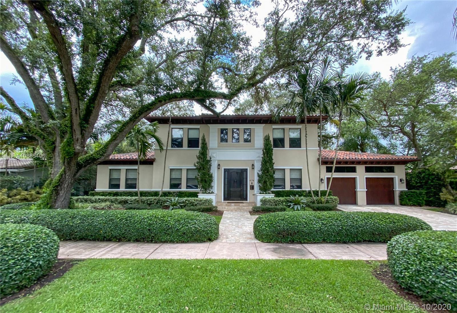 This 2007 custom built home is located in the Chinese Village neighborhood of Coral Gables. The 5 bedroom, 4.5 bathroom home features 3,956 SF (Adj), a great floor plan, high ceilings, a spacious living and dining room, oversized master bedroom with huge terrace and walk-in closet, top of the line finishes as well as impact glass windows & doors. The kitchen comes with top of the line appliances and Granite counter tops. The home offers Travertine Marble floors in all areas and wood floors in the bedrooms. The large family room overlooks the covered terrace and pool area. The home sits on a 10,000 SF lot, which features a secluded garden with a grass area and a salt water pool.