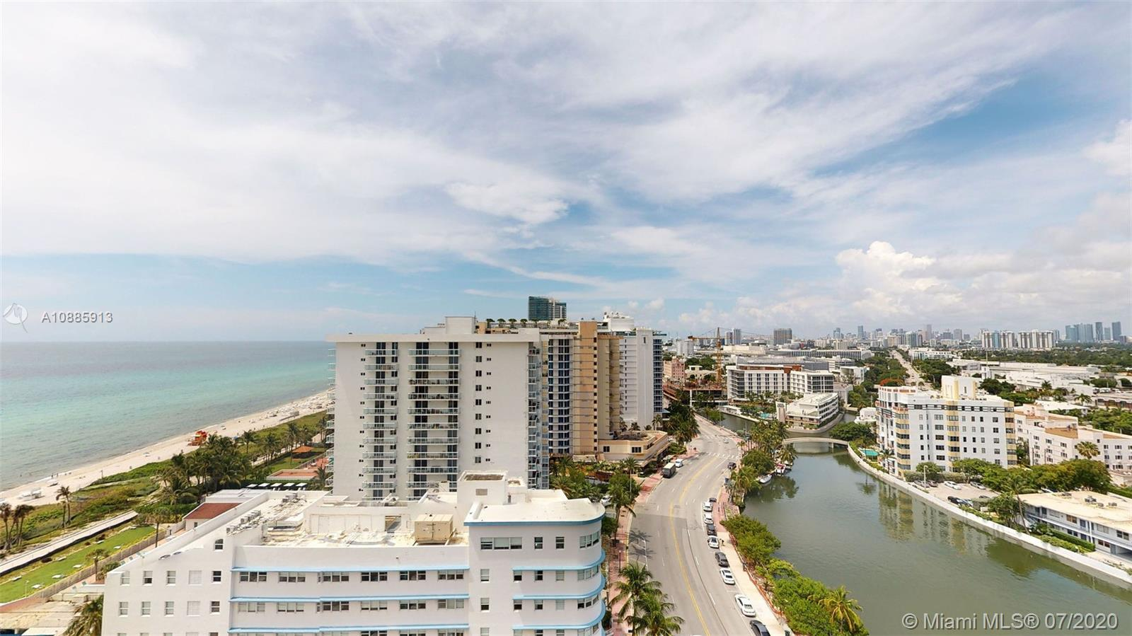 Beautifully remodeled, OPEN CONCEPT unit in Faena District, Miami Beach's most exclusive strip of beachfront.  Steps away from The Edition & other multimillion dollar units.  Direct bay & ocean views.  Access to ocean & Boardwalk.  Walk to Lincoln Road, The Edition, lots of restaurants, South Beach etc.  Buy to occupy or for investment purposes.  Seasonal rentals permitted.  Please click on link to virtual tour on this listing or call/text for additional link.  Easy to show.  Call for appointment.