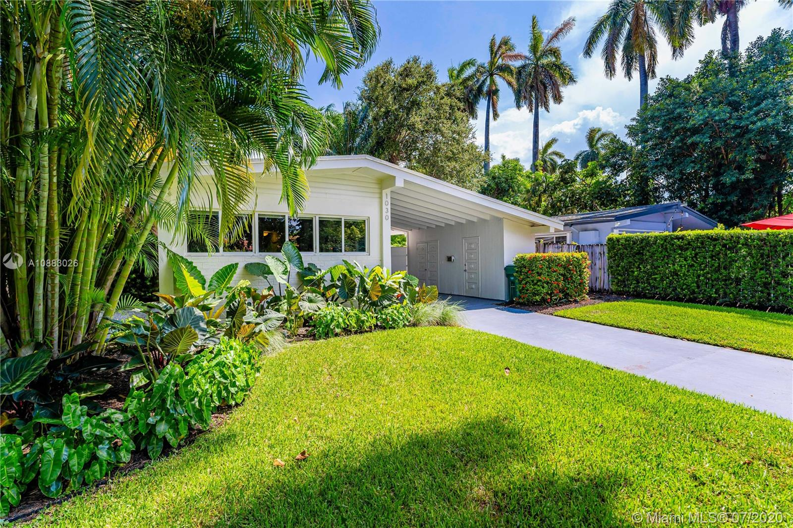 1030 NE 85th St  For Sale A10883026, FL