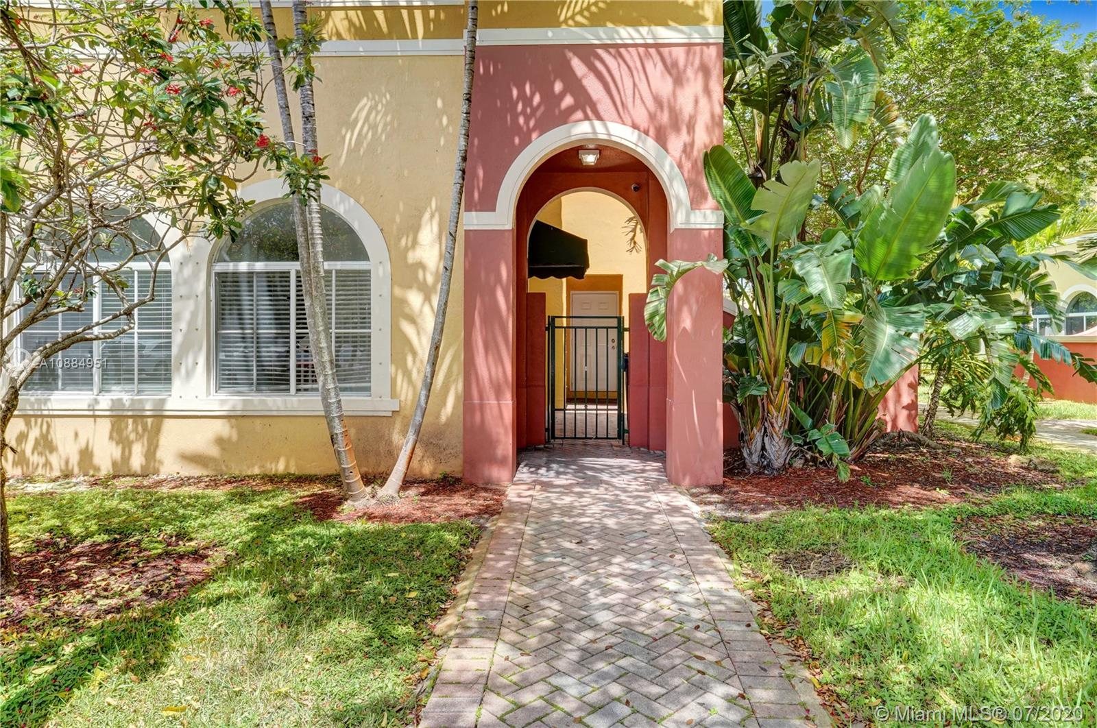 AMAZING OPPORTUNITY! To own a tastefully renovated home at a great price. Nestled on a Corner lot in a fun and beautiful community. New kitchen with granite countertops and pantry, new stainless steel appliances, lots of storage and closet space. Tiled floors on 1st floor, laminate floors upstairs. Tastefully renovated with rustic and modern bathrooms upstairs. Two balconies upstairs. Property will appraise with all upgrades added on. Original A/C unit, no credits. Clubhouse currently being renovated. Amenities include: Community Pool, Tot Lot and Gym. HOA FEES INCLUDES: cable TV, high-speed internet, landscaping, maintenance of the common areas, security patrol, management onsite, pool and clubhouse. Near major highways (I-95 & Turnpike) and 441.