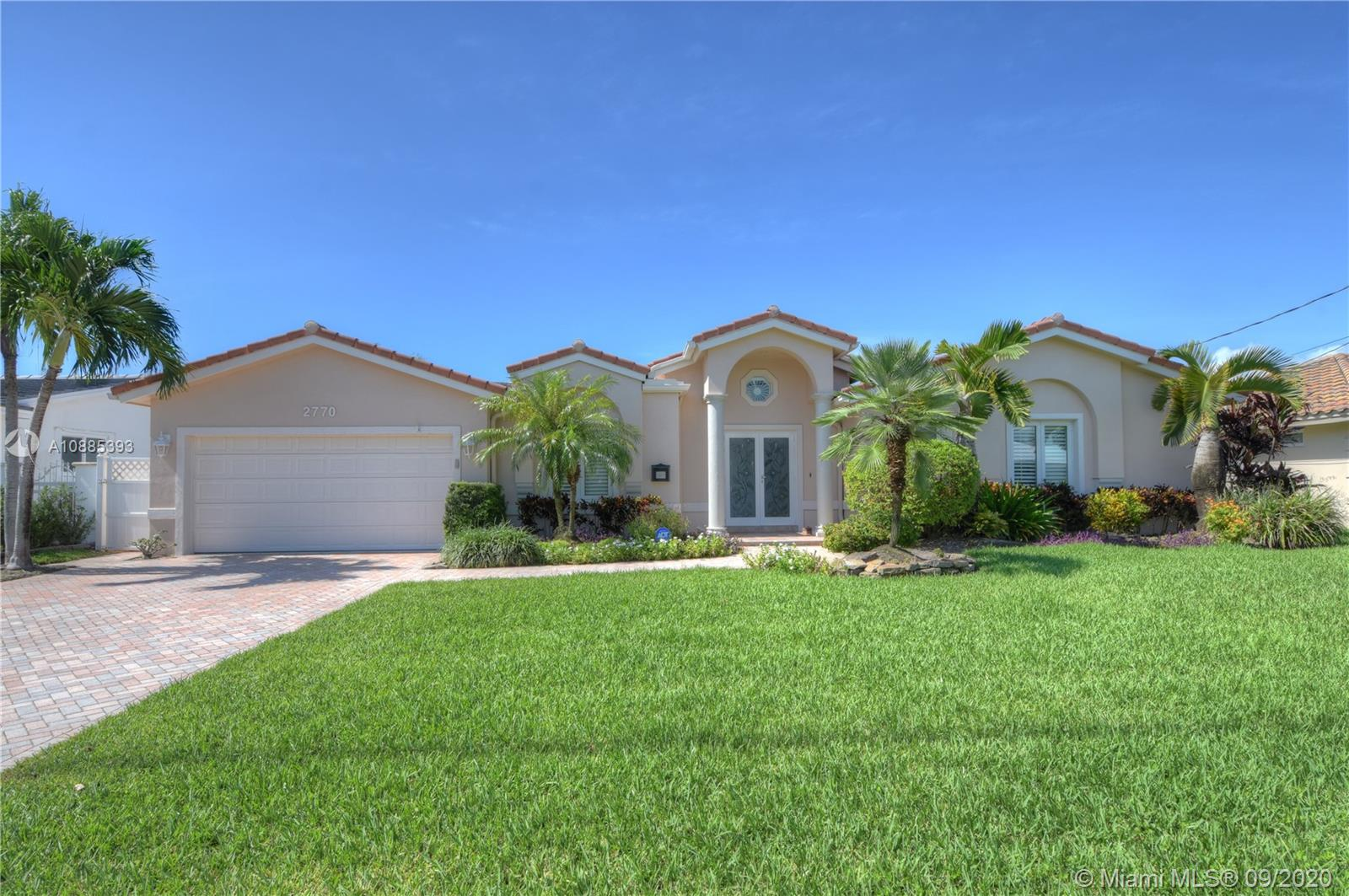 2770 NE 57th St  For Sale A10885393, FL