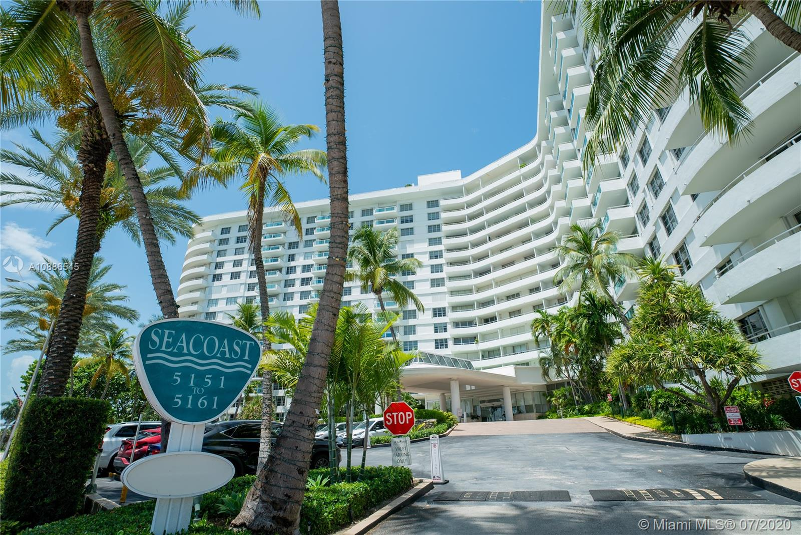 5161  Collins Ave #709 For Sale A10886545, FL
