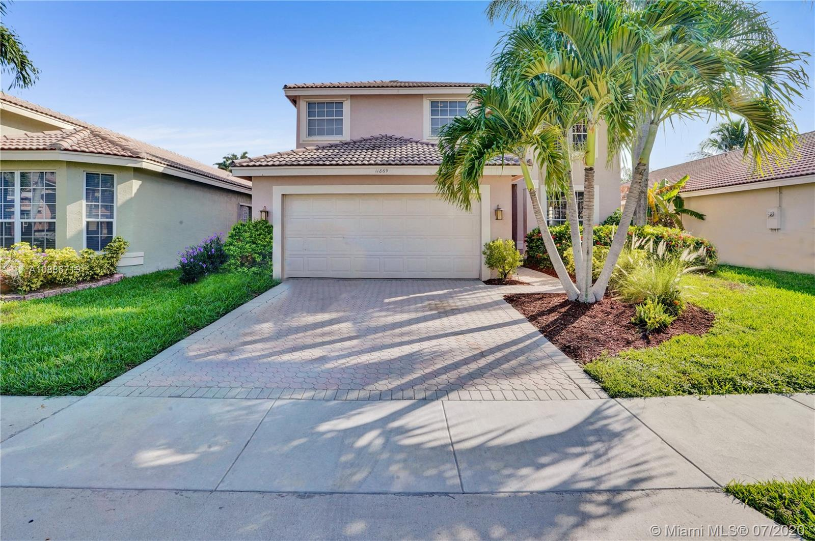 Rare opportunity for a Beautifully Updated Home! Move-in Ready, 4 bed 2.5 bath Single Family Home with an Amazing Kitchen, situated in the gated community of Wyndham Lakes in North Coral Springs. Two sets of sliding glass doors lead onto the large screened patio pool area creating the perfect link from inside to out. All Bedrooms on 2nd floor including a Spacious Master Bedroom with a large walk-in closet. Featuring high ceilings, hurricane shutters, 2 car Garage,and fully screened backyard SALT WATER pool, Tons of storage, Low HOA & Top Rated Schools. Prime Location that has been meticulously maintained by original and proud owners!!! Make your showing appointment today!