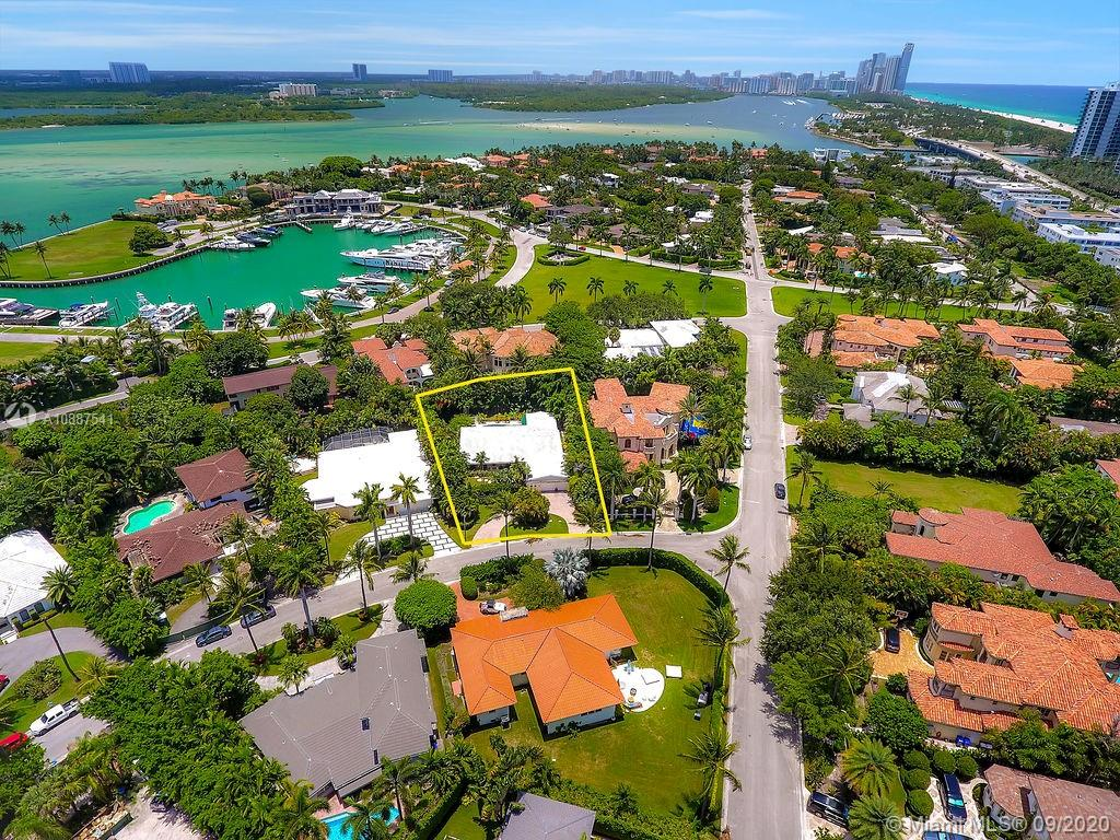 Rare opportunity to buy an over sized lot and build your dream home in the exclusive guard gated Bal Harbour Village. Home is currently tenant occupied on a flexible lease term. Per recent survey lot size is 14,300 sq.ft . 