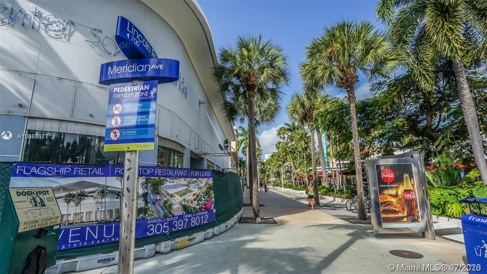 1619  Meridian Ave #10 For Sale A10888077, FL