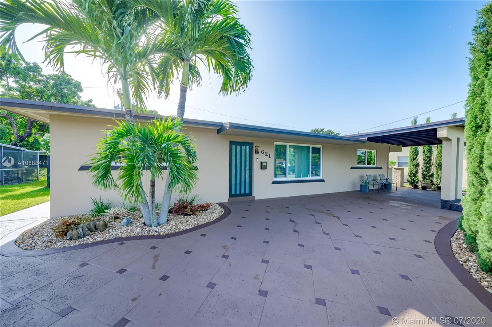 Wow, this is the one you have been waiting for. Move-in ready 3/2 with impact windows, 2-year-old roof, 1-year old A/C, and newer water heater. Home features an open floor plan with huge Florida room, and updated kitchen featuring granite counters, wood cabinets, and s/s appliances. Both bathrooms have been updated. Beautifully landscaped backyard that is fenced in and has room for a pool if you want to put one in. NO HOA.  Centrally located, 20 minutes to Ft.Lauderdale and 30 minutes to Miami with multiple FWY options. 20 minutes to beaches. Grade school and high school in walking distance. Lots of local sports for kids to join. The list goes on!