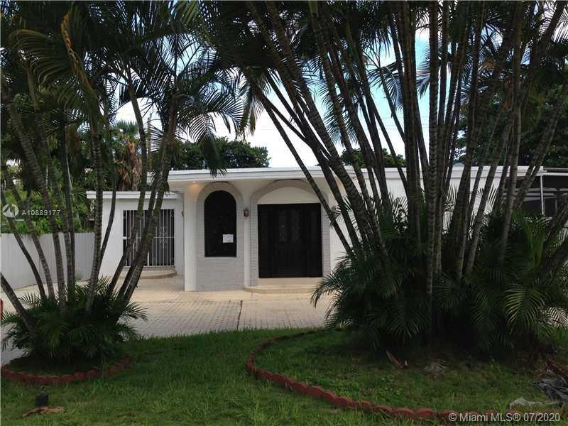 3 bedroom + den, 2 bathrooms, beautiful charming completely remodeled and upgraded, Italian kitchen, stainless steel appliances, granite countertops, added den to house actual sq. Ft. 1900, large pool. Walking distance to the beach, near restaurants, shops, and sunny isles beach k8 school a+ rated school.