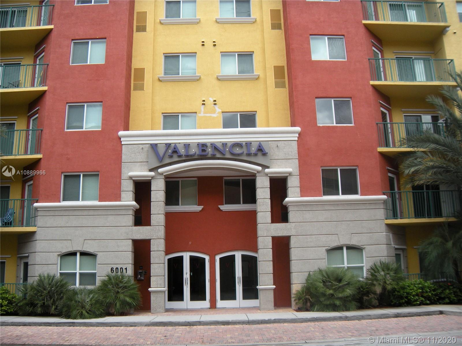 Beautiful, spacious and largest 1 bed, 1 bath and two garages corner unit with direct access to peaceful meditation garden at prestigious Valencia Condo at S. Miami. New ceramic floors throughout. Valencia offers great amenities including swimming pool, Barbeque, Gym, Internet café, 24 hr security. Once block from metro, close to UM University, main hospital, Restaurants, Shops, Movie theaters, a Must see.