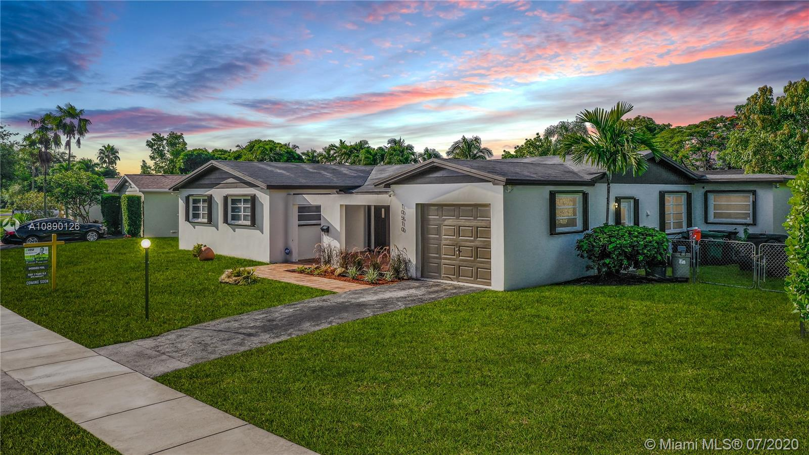 10510 SW 99th St  For Sale A10890126, FL