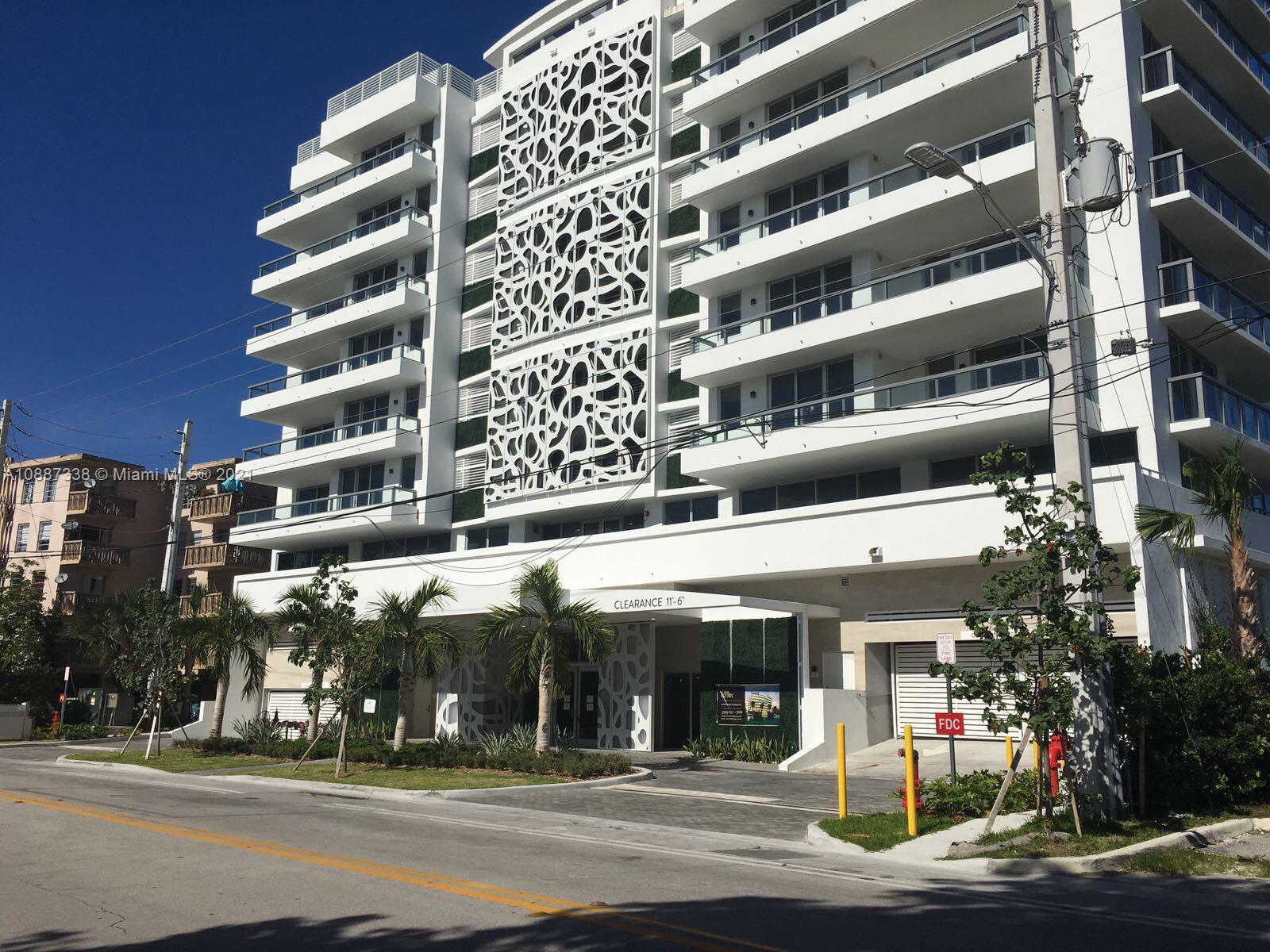 This stunning and unique 2 bedrooms 2 bathroom is the perfect home. This spacious residence is located at The Ivory Condominium in highly sought after Bay Harbor Island. The Ivory is a 40 unit boutique building that has resort-style amenities including a spectacular rooftop pool, full-service fitness center, and lobby concierge. The corner unit has dramatic intercoastal views from every room, Italian cabinetry, Porcelanato floors throughout, window coverings, extended Quartz countertop for dining,  premium Bosch stainless appliances, contemporary lighting, in-suite laundry, private balcony, and 1 covered parking space. Association includes internet, lobby attendant, and large 7x7 designated personal storage. Short Term Rentals are permitted. Pets are permitted up to 40 lbs.