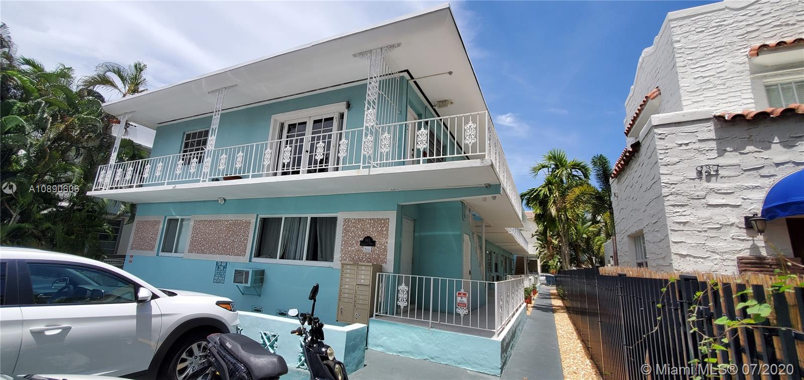 945  Meridian Ave #4 For Sale A10890606, FL