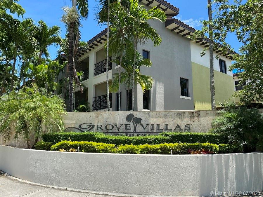 "Miami townhome in a small enclave of 20 homes.Gated community.The main level features 2car garage,laundry room with new steam washer/dryer.First floor has an entry room with half bathroom & fully paved private patio.The second level,hosts the updated kitchen with SS appliances and living/dining area as well as another 1/2 bath,Actual Living area 1711 SQFT.HUGE balcony off of the kitchen dining area as well as another balcony overlooking the courtyard patio.Third level includes two bedrooms w/their own bathrooms and each has its own balcony!This home has been meticulously taken care of.The kitchen and upstairs bathrooms have been recently renovated with marble finishes and 6 jet spa shower with 15"" overhead rain shower. Home has a  new water heater and new AC system with Nest Thermostat."
