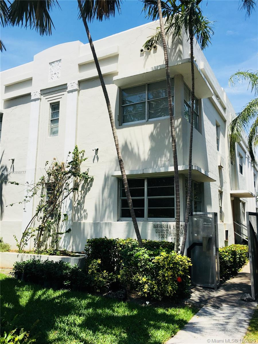 1557  Meridian Ave #105 For Sale A10890777, FL