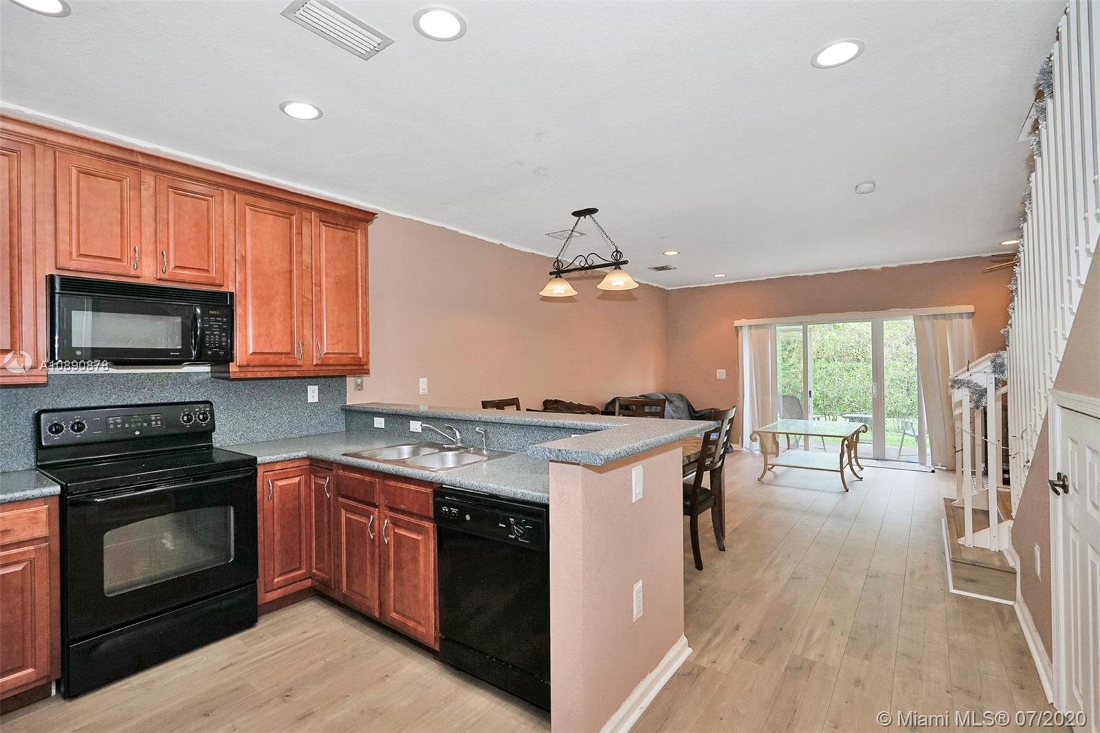 Updated 3bed 2 1/2 bath townhome at The Oaks, a gated community.  Great Location - near 95.  this bright and spacious unit has been painted a soft gray (new photos coming) with wood flooring through out.  Washer and dryer on the second floor.  Nice sitting area on back patio.  Pet friendly (2 pets max).