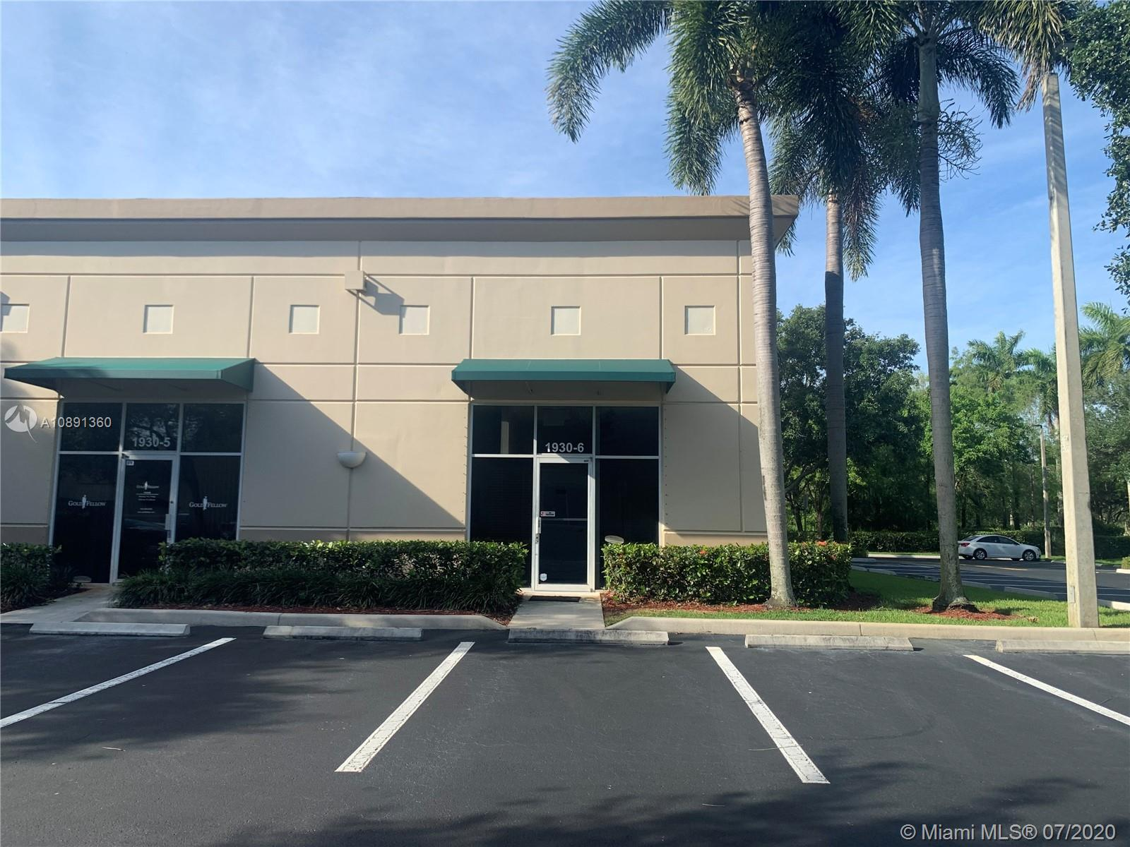 1930 N COMMERCE PKWAY #6  For Sale A10891360, FL