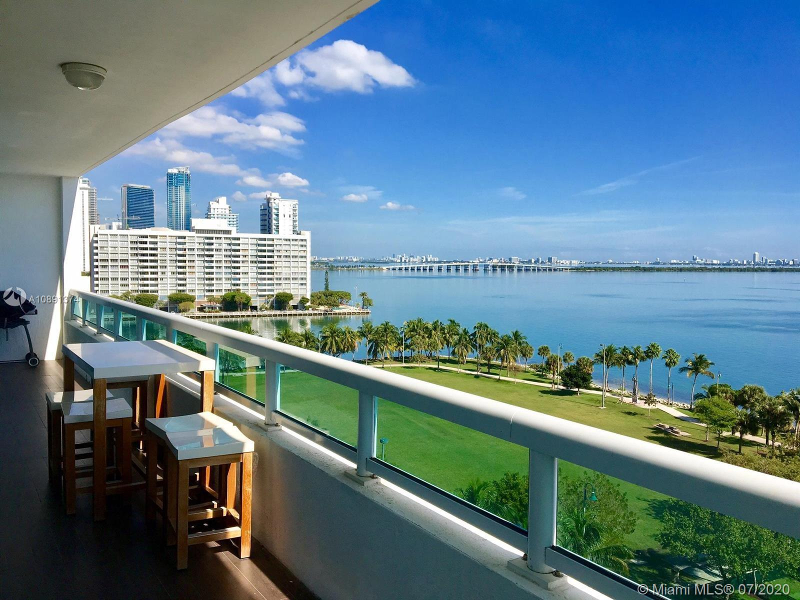 BUY WITH AS LITTLE AS 5% DOWN!!!!SPECTACULAR DIRECT EAST BAY VIEWS FROM THIS UNIT LOCATED IN EAST EDGEWATER.OPEN KITCHEN.SPLIT BEDROOMS.FLOOR TO CEILING WINDOWS IN LIV/DIN AREA & BOTH BEDROOMS.TILE & MARBLE FLOOR.1222 OF AC SPACE + 252 SQFT TERRACE.VERY LOW HOA OF ONLY $610 WHICH INCLUDES CABLE, HIGH SPEED INTERNET,A FULL AMENITIES BUILDING W/ VALET,DOORMAN, CONCIERGE,POOL/GYM ATTENDANT, IN HOUSE MANAGEMENT OFFICE AND OVER 5 MILLION DOLLARS IN RESERVES.WALK TO PARK, CAFES, NIGHTLIFE, PUBLIX, BANKS & SO MUCH MORE.5 MINUTES TO ALL THAT IS HAPPENING IN NEW URBAN MIAMI INCLUDING SOUTH BEACH, DOWNTOWN, BRICKELL, AAA, PERFORMING ARTS CENTER, THE PORT & HEALTH DISTRICT.EASY ACCESS TO ALL MAJOR HIGHWAYS. VERY EASY TO SHOW.