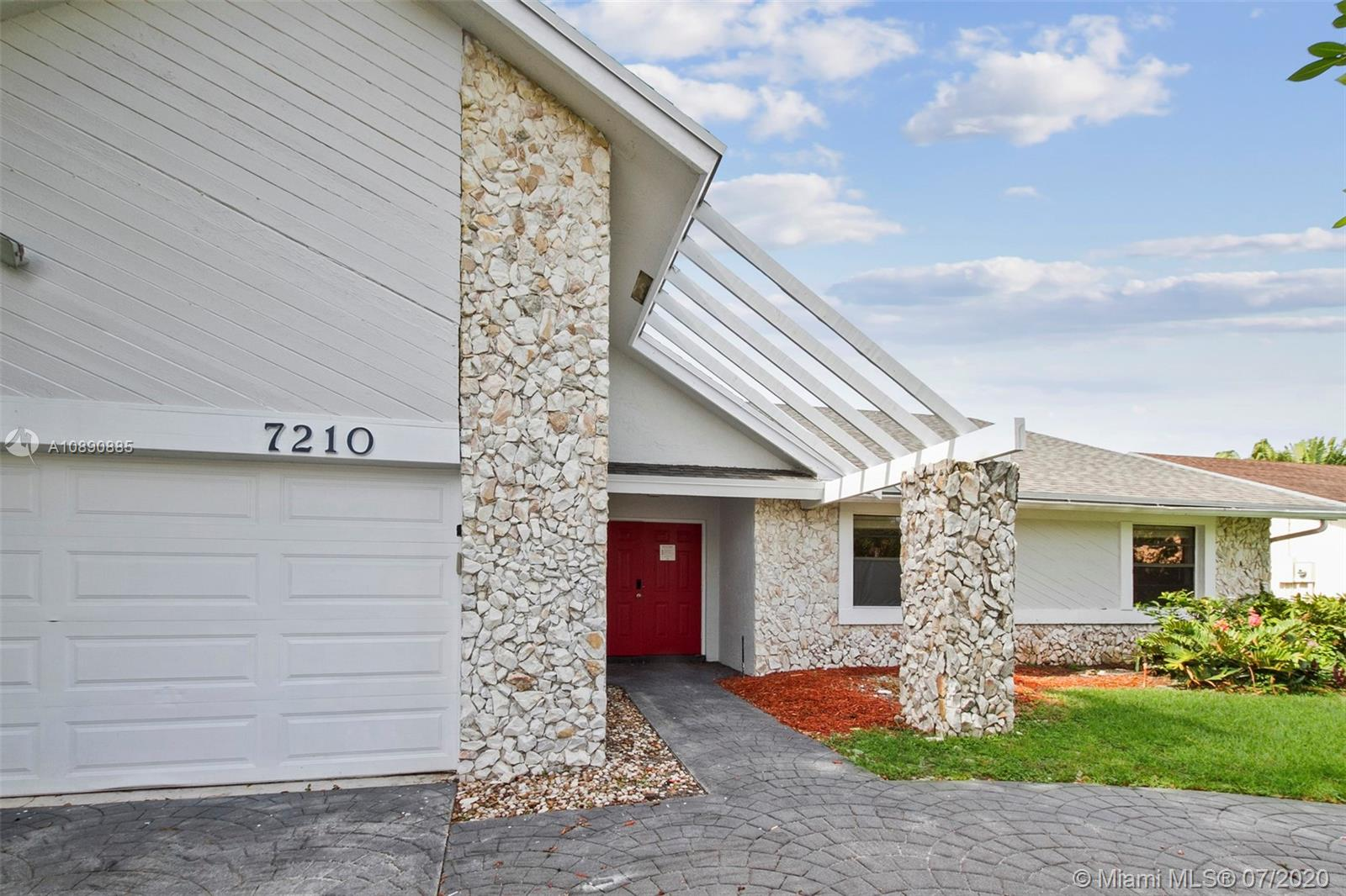 This 3 bedroom, 2.5 bathroom home in Lauderhill has canal waterfront access and a pool. Large windows make the home feel airy and bright. Check it out for yourself!