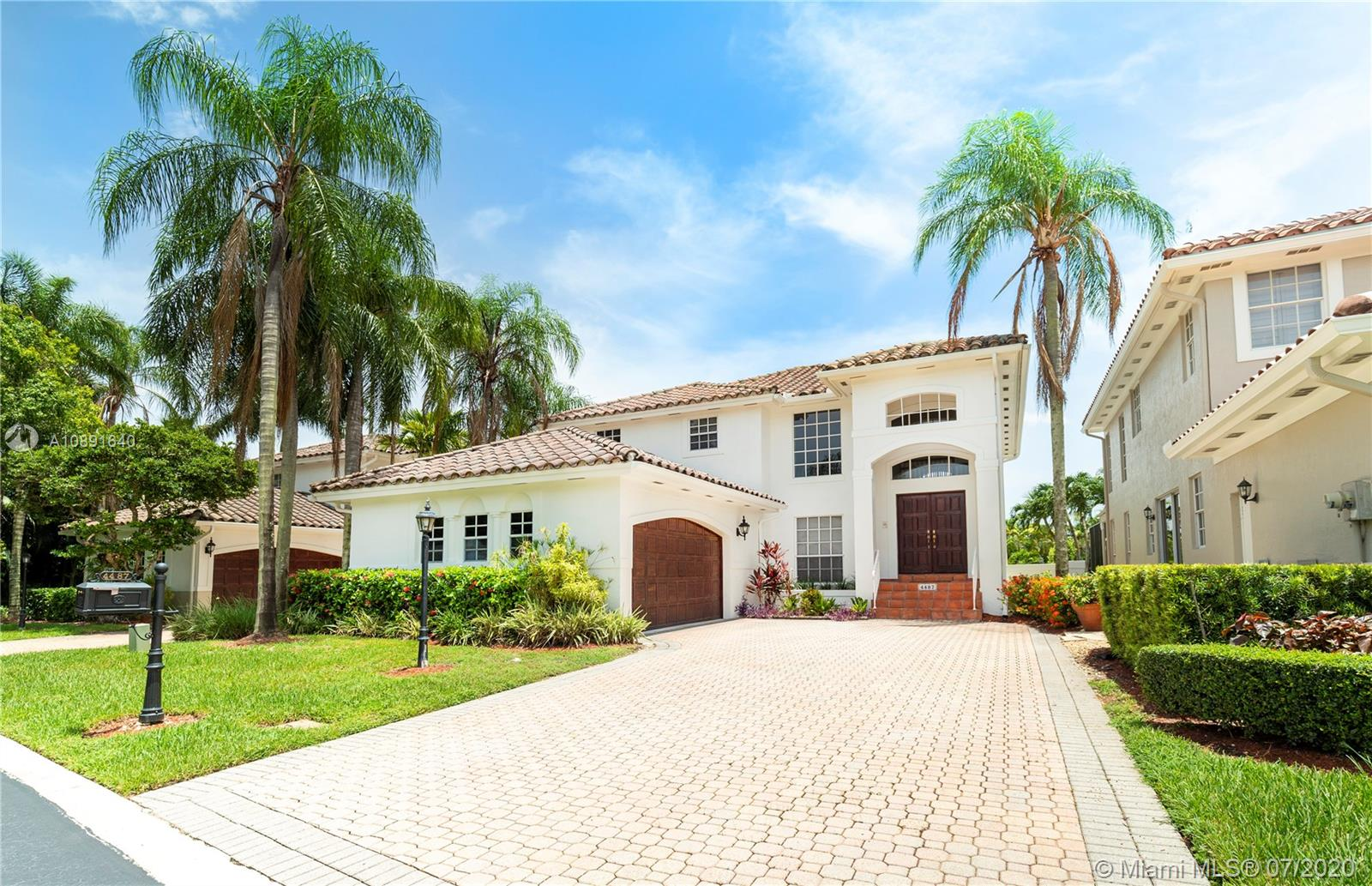 4487 NW 93rd Doral Ct  For Sale A10891640, FL