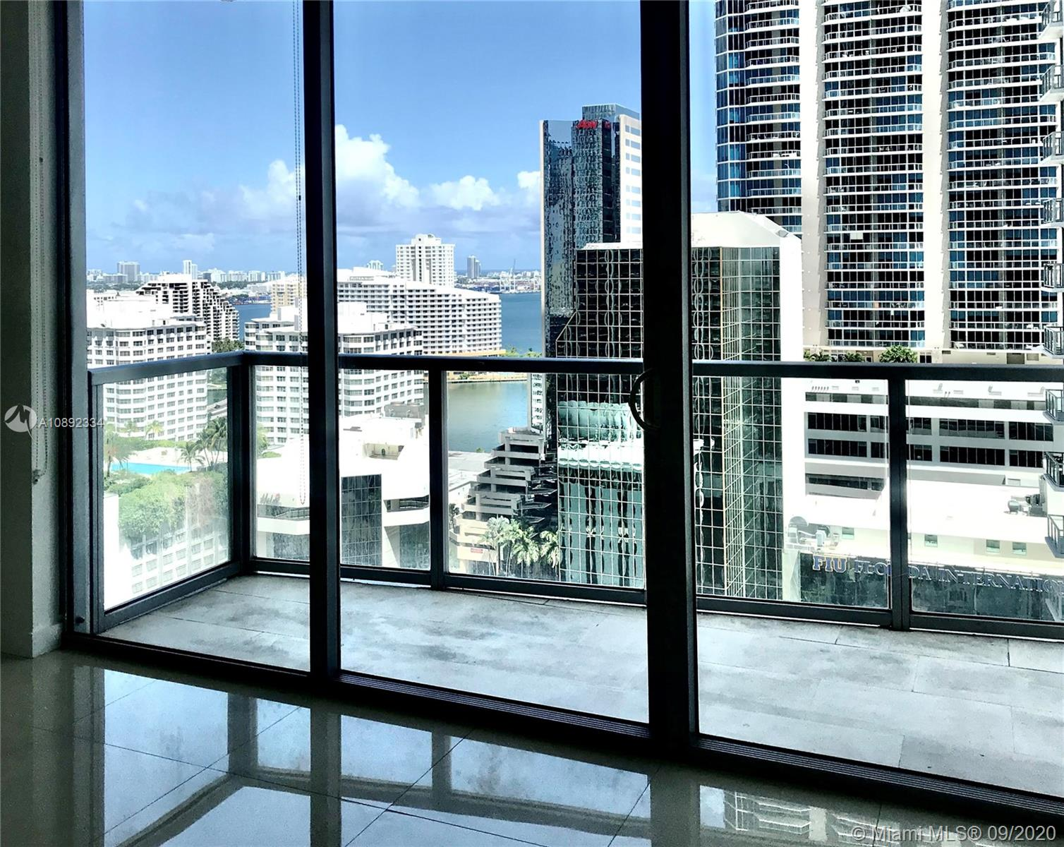 BEAUTIFUL and IMPECCABLE  1 BD/1 BR UNIT, GREAT CITY VIEWS, PORCELAIN FLOORS, EXTRA CLOSETS, ONE COVERED ASSIGNED PARKING SPACE. FULL AMENITIES BLDG: GYM & SWIMMING POOL. STEPS FROM MARY BRICKELL VILLAGE, BRICKELL CITY CENTRE, METRORAIL & METROMOVER * Per Owner request, no pets allowed in the unit* Owner requires First Month of Rent, Last Month of Rent & One month of Security Deposit. Attached Rental Application Package. The Condominium Association does not require Security Deposit for common areas. Tenant to pay the move-in fees required by Condominium Association. BASIC CABLE included in the rent. INTERNET not included in the rent.