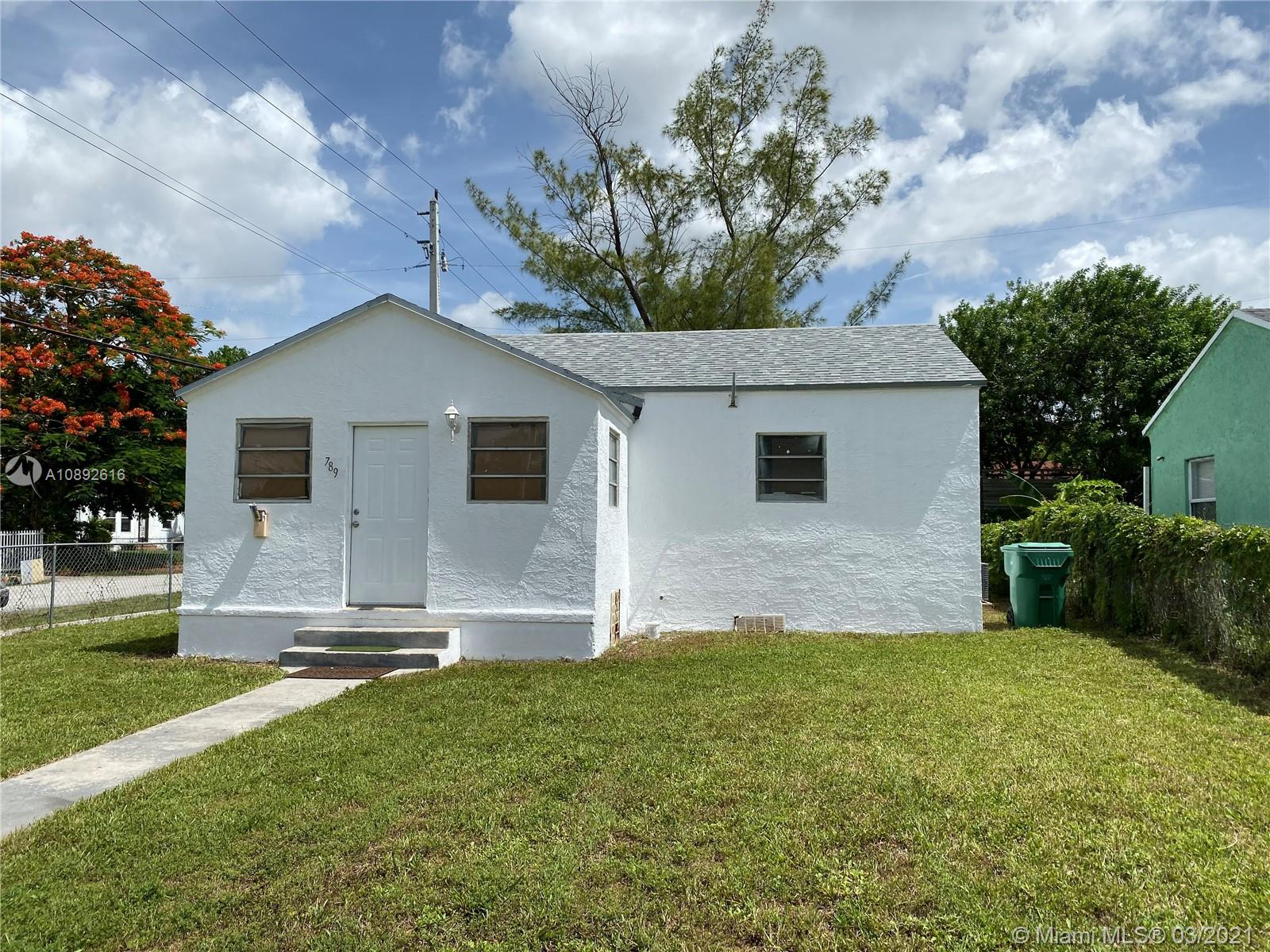 789 NW 64th St  For Sale A10892616, FL