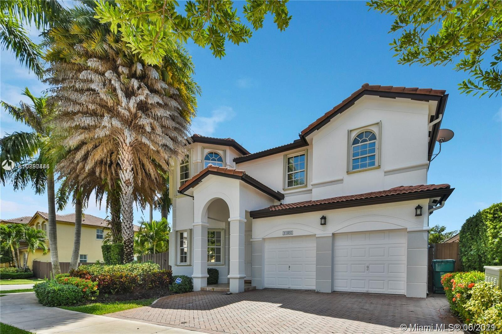 This amazing house has everything that a demanding buyer would like to have. Corner Lot in quiet street behind the Legacy Park, 5 Large Bedrooms, and 4.5 Bathrooms.Gorgeous Outdoor Entertainment Area with Beautiful, modern heated Pool, Pergola. Built-in Gas Grill in granite furniture and central Aisle. Beautiful kitchen with Thermador appliances, wine cooler. Marble flooring throughout, Renovated and modern bathrooms with marble vanities. A modern staircase leads to Upstairs. Family room with large Entertainment center, Accordion Shutters throughout all windows except on one. Impact sliding doors, charming curtains, Large Washer and Dryer. Garage with tiled floor, Water treatment system, Many Upgrades, elegant fans, and spectacular lamps.Your client will love it. Very easy to show.