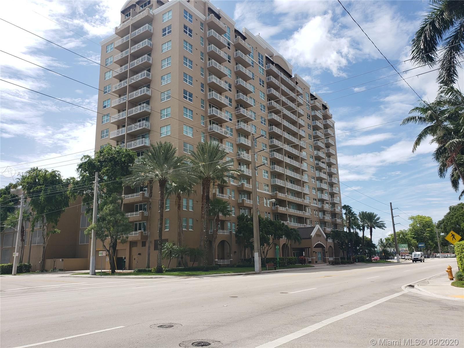 Breath-taking unit located in Gables area. Unit composed by 2 beds/2 baths, laundry area, open balcony & city view, Carpeted floors and with 2 parking spaces perfect for guests. Property under auction terms.This is a secured building w/ community pool & other amenities. Unit in excellent condition that makes this property a perfect opportunity for living.