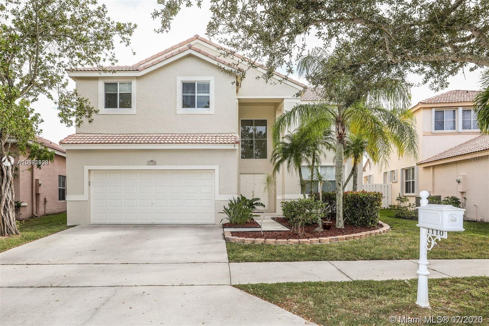 BEAUTIFUL AND UPDATED LARGE 4 BEDROOM 2.5 BATH SINGLE FAMILY HOME IN GATED FALLS COMMUNITY OF WESTON. HOME FEATURES UPDATED KITCHEN, BATHS, MASTER BEDROOM HAS ADDITIONAL SITTING AREA/OFFICE. HURRICANE IMPACT WINDOWS. A+ RATED SCHOOLS, LOCATED NEAR SHOPPING AND MAJOR HWYS. A MUST SEE PROPERTY!