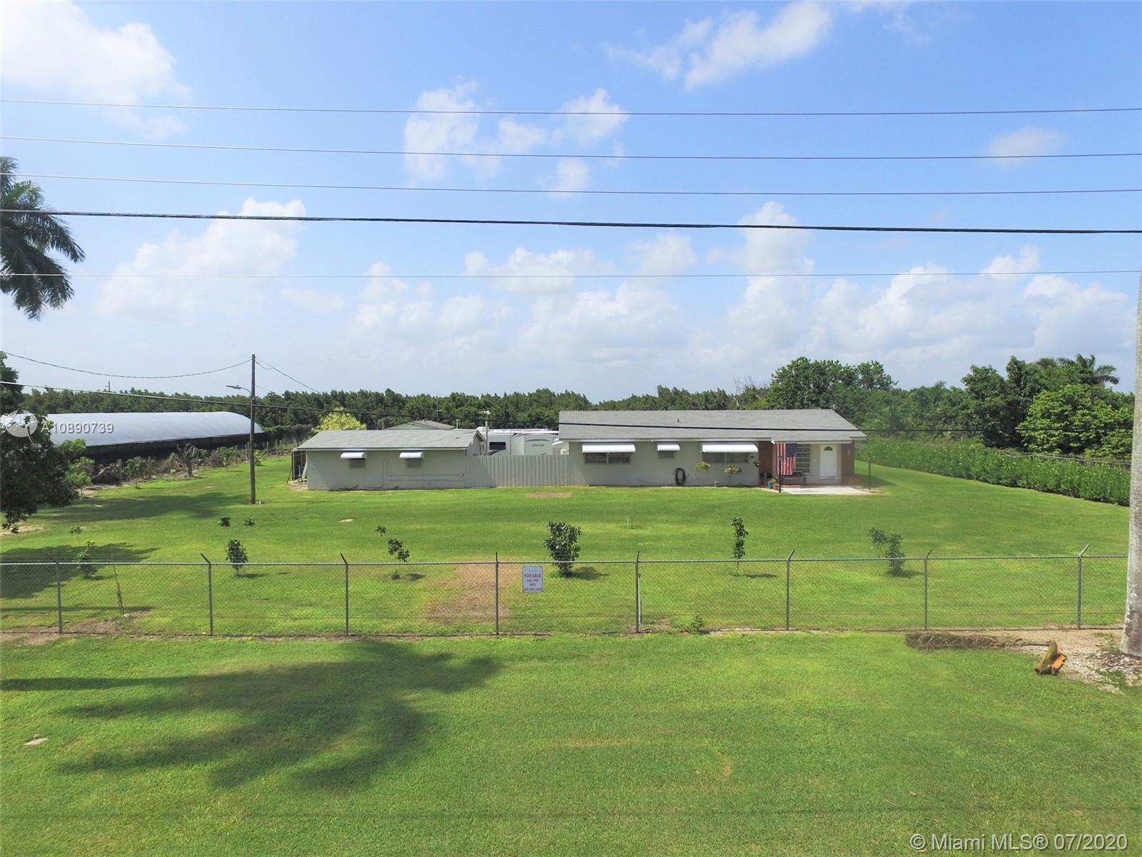 20255 SW 280 St  For Sale A10890739, FL