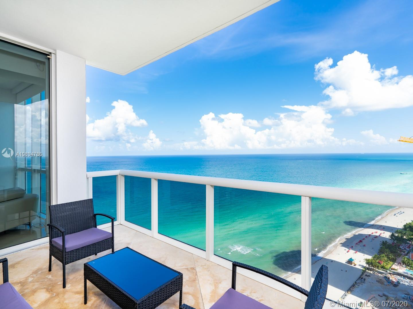 INCREDIBLE CONDO IN SUNNY ISLES! ENTER THRU PRIVATE ELEVATOR FOYER & IMMEDIATELY SEE DIRECT OCEAN VIEWS & DOWNTOWN MIAMI SKYLINE ON ONE SIDE & PRISTINE INTRACOASTAL VIEWS & MAGNIFICENT SUNSETS. SPACIOUS + IMPECCABLE 3BEDROOMS+3.5BATHROOMS & 2 BALCONIES W/ENDLESS WATER VIEWS.  MARBLE FLOORS, OPEN KITCHEN, SS APPLIANCES, SUB ZERO FRIDGE, GRANITE COUNTER TOPS.CUSTOM WINDOW TREATMENTS & WALK-IN CLOSETS. 5* AMENITIES: 24H SECURITY, VALET, 3 POOLS, 4 HOT TUBS, TENNIS COURTS, FITNESS CENTER/SPA, BEACH CLUB, 3 RESTAURANTS, BEACH BAR, F&B ROOM SERVICE, DOG PARK, CHILD PLAY AREA, FREE VALET, EXCELLENT BUILDING MANAGEMENT, FULL ACCESS TO TRUMP HOTEL+MORE!