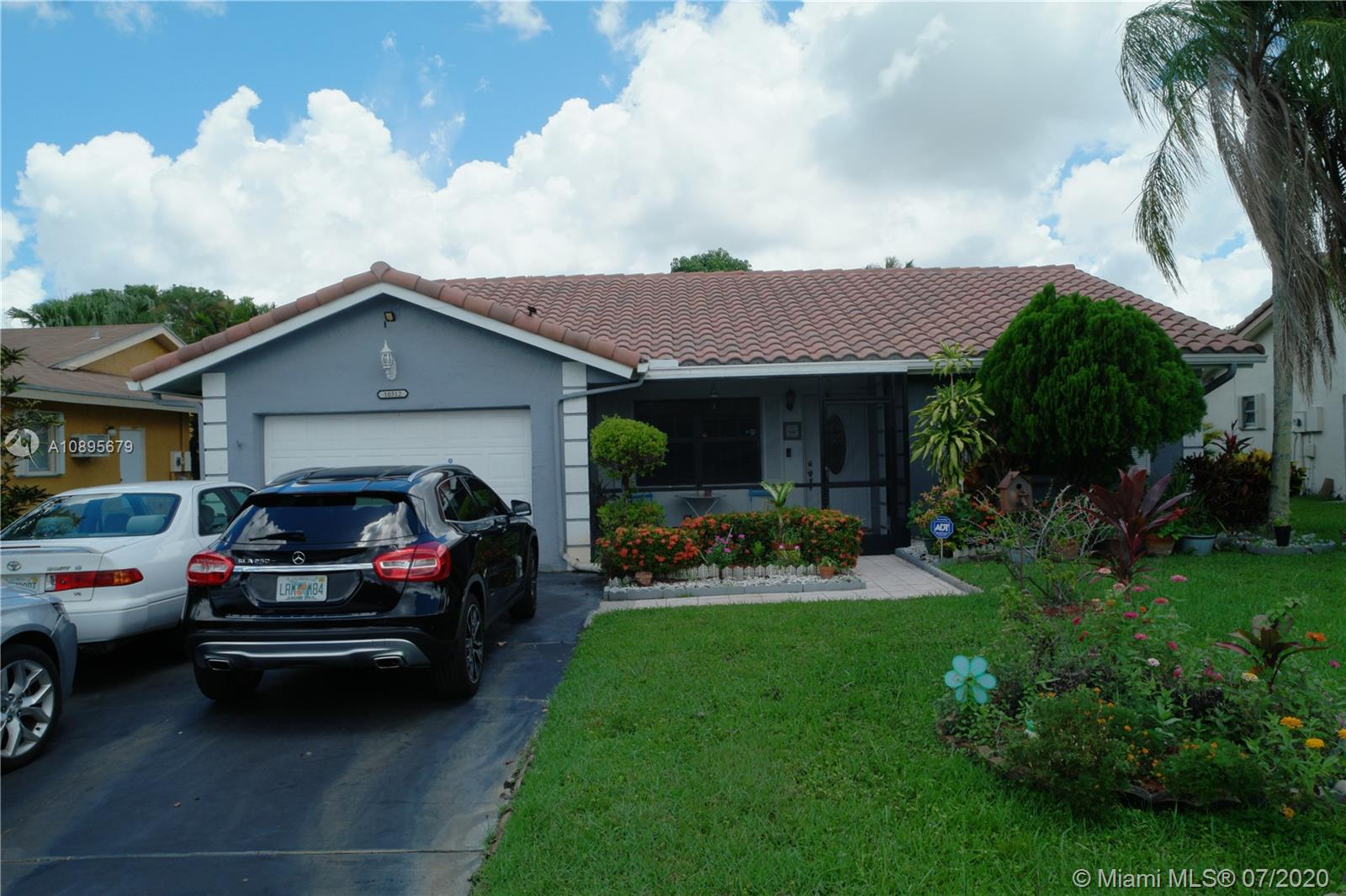 Must See!! Beautiful 2 Bedroom, 2 bathrooms, 1 car garage Single Family Home in the Desirable ISLES OF TAMARAC 55+ community. Granite countertops in kitchen, wood floors, and Jacuzzi tub in the Master. Very spacious, with room for a 3rd bedroom.