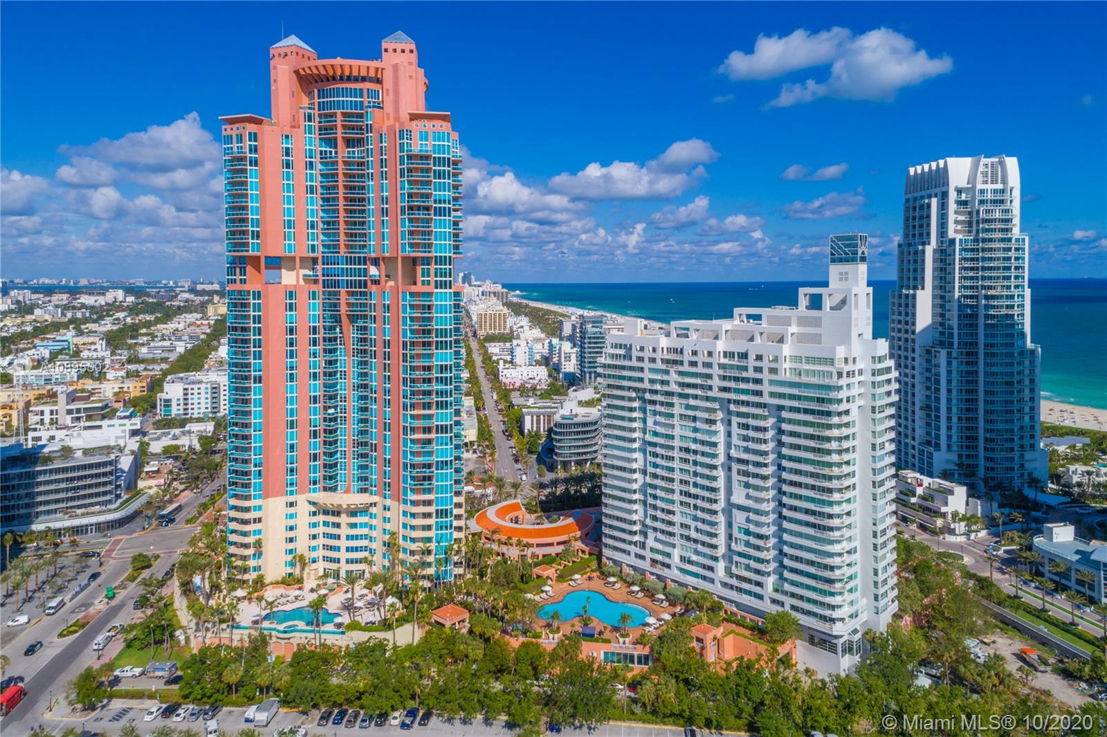 300 S Pointe Dr #2202 For Sale A10895502, FL