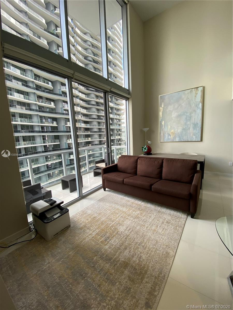 Extraordinary LOFT style Two story apartment located in the heart of Brickell. Walking distance to Brickell City Centre, Mary Brickell Village, Public Transportation and Publix. New A/C, upgraded Washer and Dryer. Building amenities include updated gym, pool, spa, billiard room, cigar lounge and valet parking for guests. 15-minute drive to MIA, South Beach, Coconut Grove, and Wynwood. Easy to show!