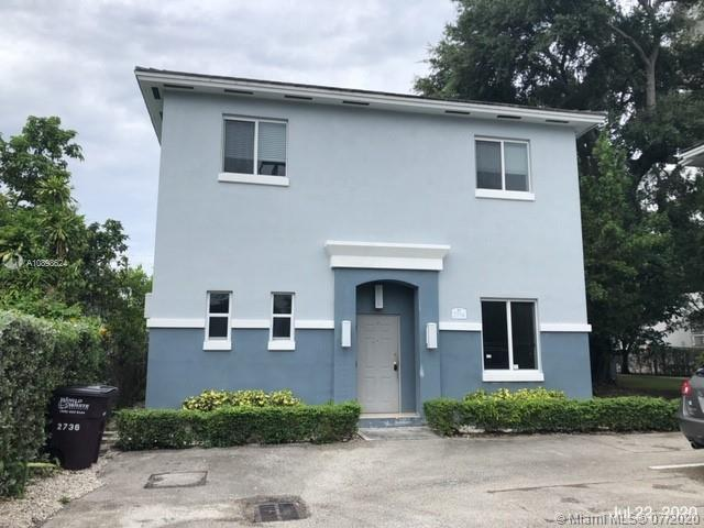 Amazing opportunity to own this lovely 2 story townhouse minutes from Coconut Grove, Coral Gables, Brickell and Miami Beach.  This townhouse/condo features 3 bedrooms 2.5 bathrooms, spacious open floor plan, Large bedrooms upstairs,  Washer and dryer inside.  Building amenities includes indoor pool, gym and more! PLEASE NOTE *Sold Strictly AS-IS, CASH ONLY DUE TO DEFECTIVE DRYWALL* &  REFER TO INSPECTION REPORT ATTACHED.  