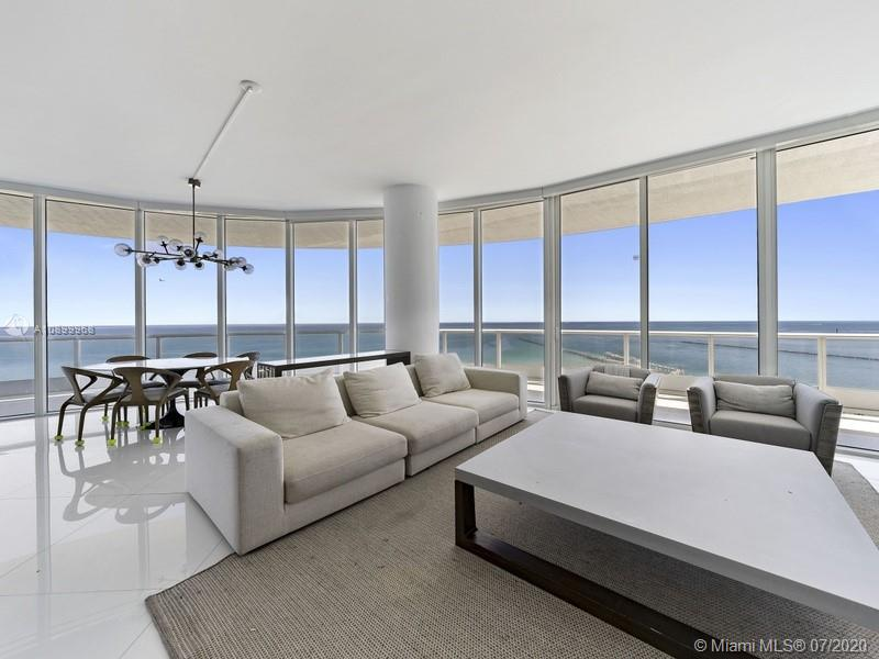 Direct ocean views from the large, wrap around balcony of this updated three bedroom home.  The kitchen has been redesigned offering an open, spacious floor plan with lots of floor to ceiling glass. Located on the SE corner of the Continuum south tower.  Enjoy the amenities of Continuum on South Beach: direct beach access, Beach Club, on-site restaurant, 3-story fitness/spa, lagoon pools, lap pool and tennis courts.  Located in the south of fifth luxury neighborhood in south beach.  Offering ultra high-end condominiums, top rated restaurants, beautiful beaches, the Miami Beach Marina and South Pointe Park.