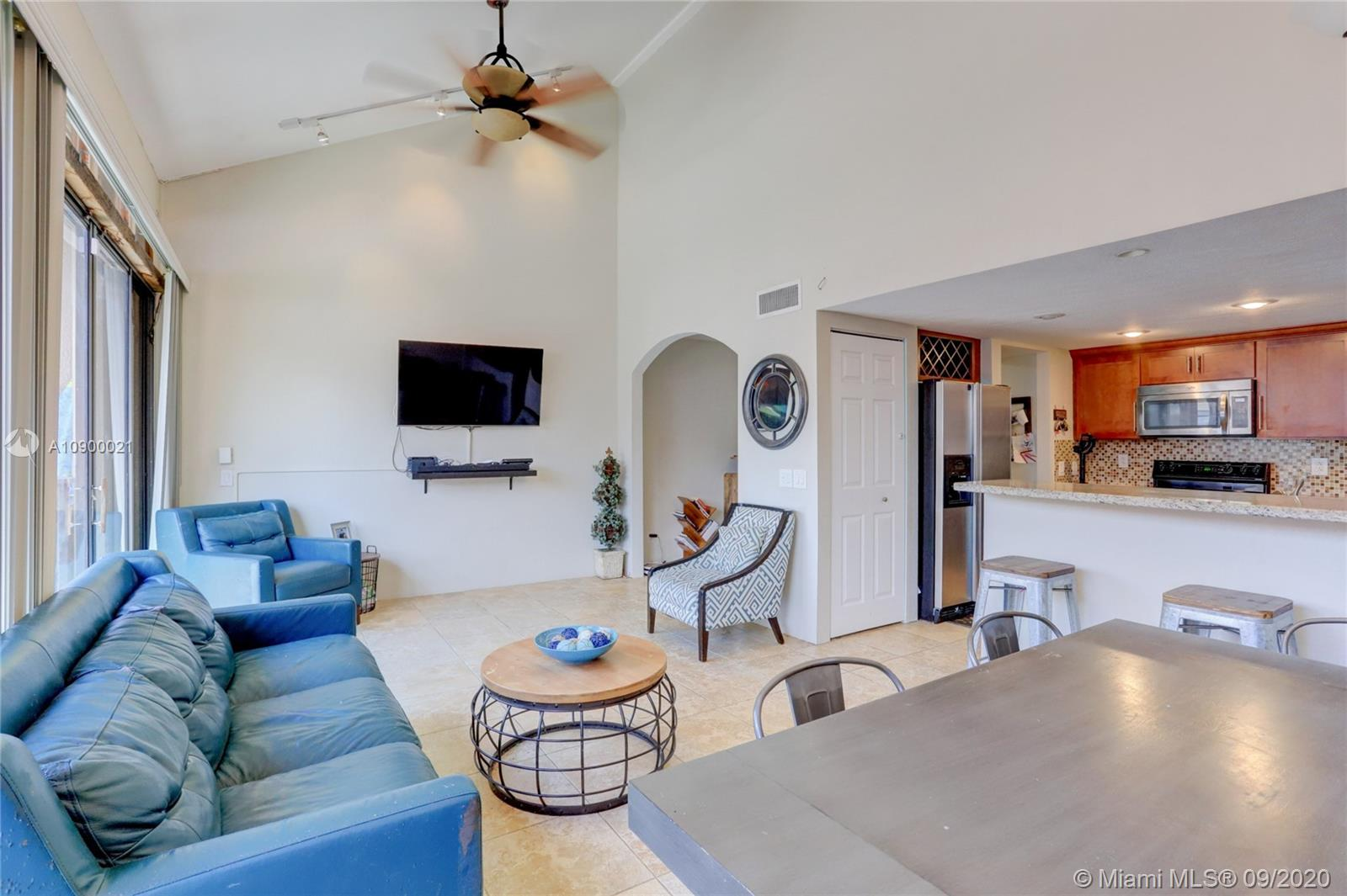 Incredible opportunity to own rarely available 3Bed/3Bath corner townhome in Villas Lakes! Brand new roof! Open concept remodeled kitchen perfect for entertaining and spending time with family! Enjoy barbecuing and the South Florida sunshine in your large screened in patio! Tile and laminate throughout! 3 yr old water heater, newer washer/dryer and brand new kitchen appliances! Master bedroom upstairs with walk in closet! Down the street from Pembroke Lakes Mall and CB Smith Park! With almost 1700 sq ft under air, this spacious townhome will not last long!!