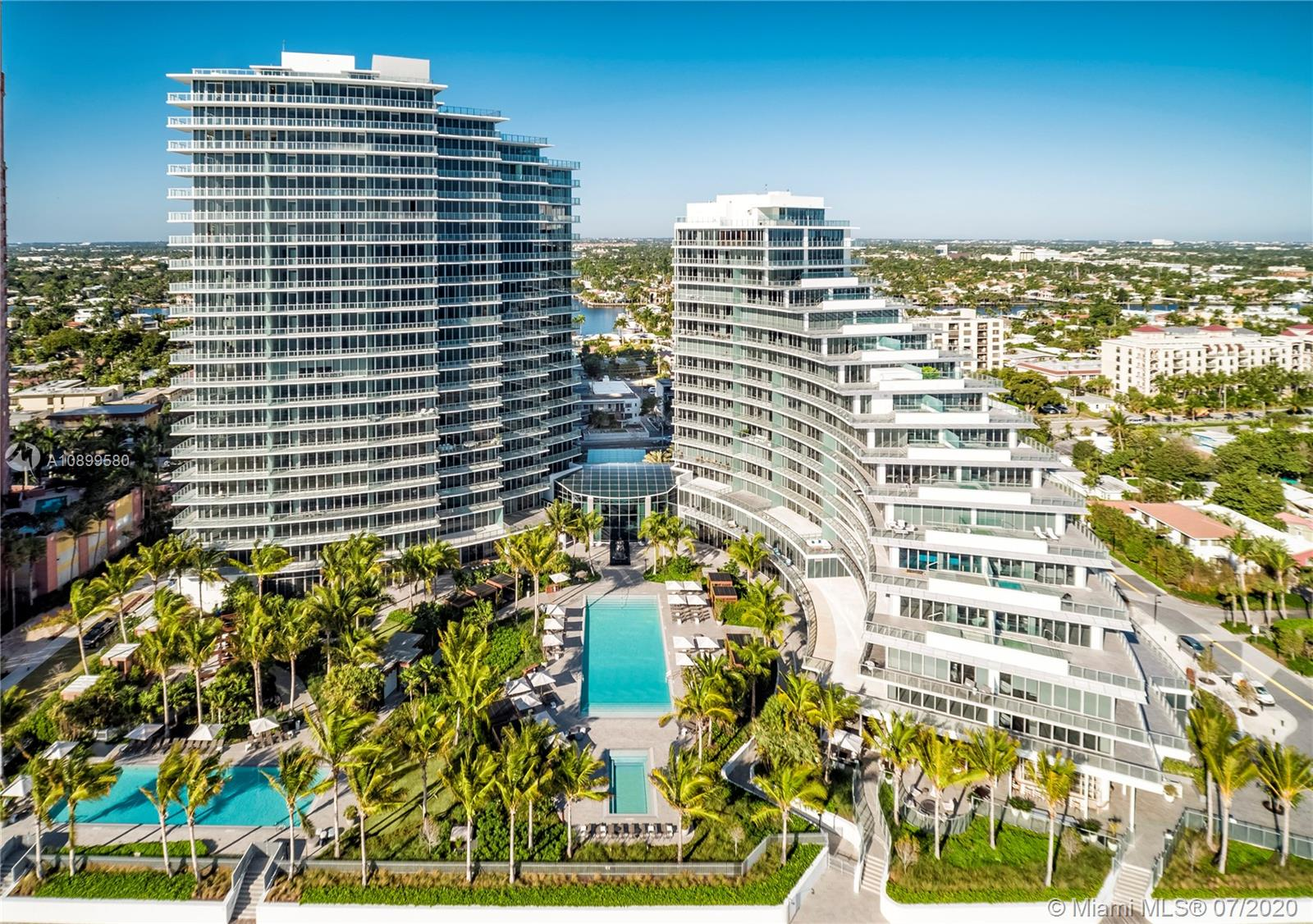 """THIS STUNNING RESIDENCE LOCATED IN THE SOUTH TOWER UNIT 1906 OFFERS THE ULTIMATE """"PENTHOUSE VIEWS WITHOUT THE PENTHOUSE PRICE"""" WITH 180 DEGREE VIEWS OFFERING BREATHTAKING DIRECT OCEAN VIEWS, INTRACOASTAL AND SUNSET CITY VIEWS. THIS ONE OF KIND FLOOR PLAN CONSISTING OF 4 BEDROOMS & 4.5 BATHS FEATURES AN EXQUISITE CHEF'S OPEN KITCHEN WITH WHITE ITALIAN CABINETRY, WHITE MARBLE COUNTERTOPS, TALL SUBZERO WITH WINE STORAGE, SUBZERO FRIDGE, WOLF GAS STOVE & ESPRESSO/CAPPUCCINO INTEGRATED SYSTEM. AUBERGE BEACH RESIDENCES & SPA, SITS DIRECTLY ON 5 ACRES ON THE SAND IN FT LAUDERDALE. WORLD CLASS AMENITIES INCLUDE STATE OF THE ART FITNESS CENTER, GOLF SIMULATOR ROOM, NAPA VALLEY WINE ROOM, SCREENING ROOM, DUNE RESTAURANT AND SPA ETC. RESIDENCE TO BE CURATED VERY SOON!"""