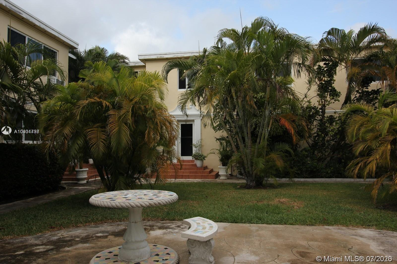 Incredible opportunity to live in beautiful Bay Harbor Islands. Walking distance to white sand beaches, shopping, and fine dining. This second floor apartment features 1 bedroom, 1 bathroom, living/dining area and a separate kitchen. It has been updated with brand new high impact windows, as well as refinished hardwood floors throughout. The unit comes with 1 parking space and offers guest parking as well.