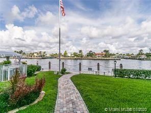 1700 sq ft of enclosed living space including a beautiful and newly screened in patio directly on the Intercoastal Waterway! This is a lovely corner unit that has been tastefully renovated and meticulously maintained. Sweeping Intercoastal Waterway views and classic Florida vistas! This unit is in beautiful condition. The gourmet kitchen features granite counter tops and stainless steel appliances.  Updated bathrooms. New AC. Private storage closet. Plenty of guest parking. Close to restaurants, beach and new Pompano Pier!