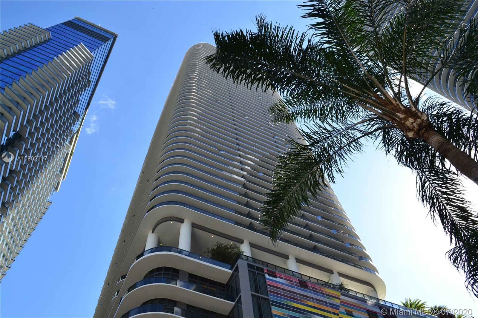 "Comfortable 1,753 SqFt, 3 BR/4 BA + DEN. SLS Lux is ideally located in the heart of Brickell , close to Mary Brickell Village and in front of Brickell City Center. Access your residence on a private elevator with biometrics technology, enjoy ample living areas with scenic Bay & City views from this prime corner unit and expansive wrap-around balcony. Features floor- to- ceiling windows, Italian Kitchen, California closets and top of the line appliances and ""smart"" wireless control pad. Miami's newest high-rise designed by Arquitectonica, and elegant interiors by Yabu Pushelberg