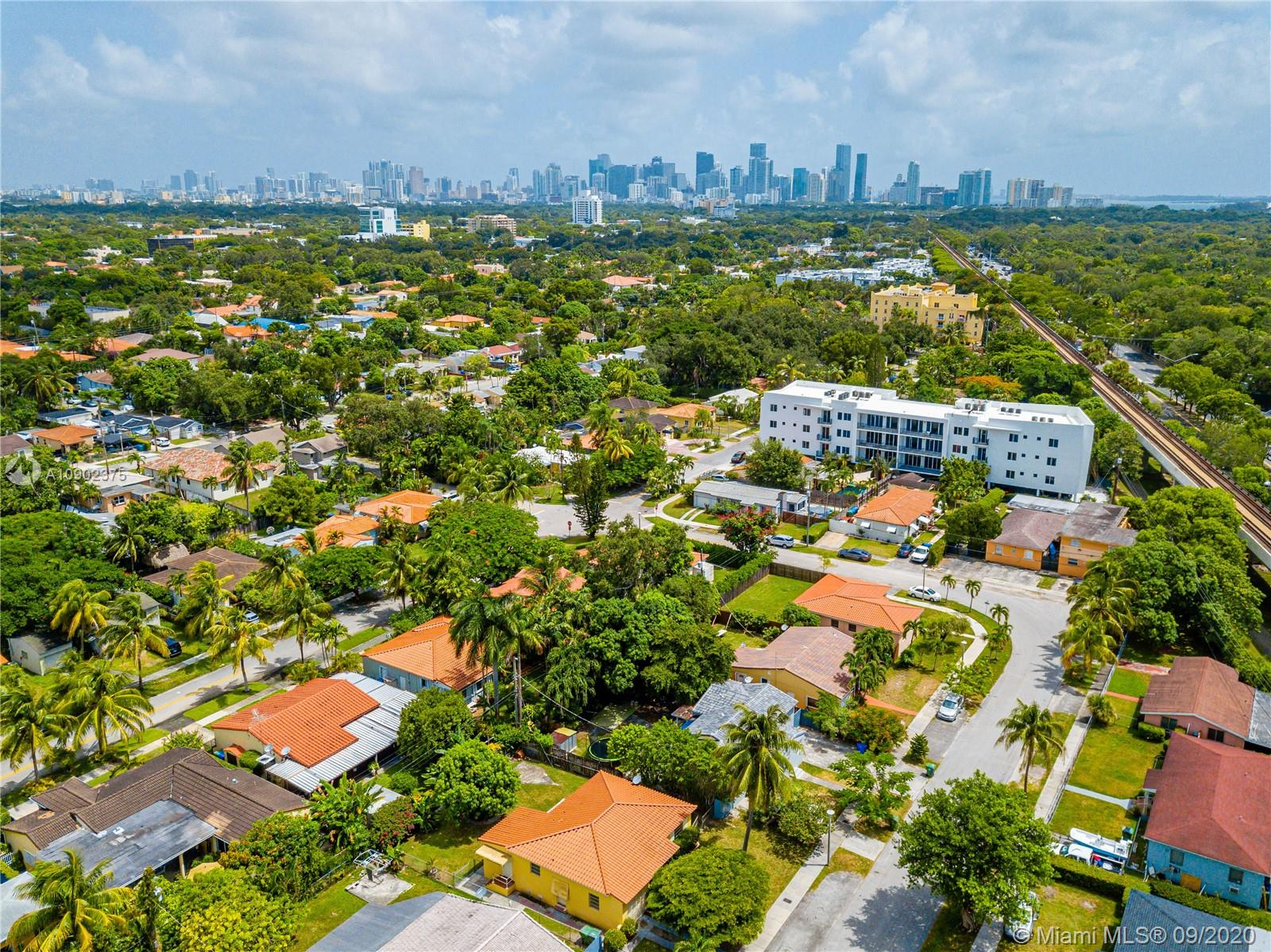Beautiful, centrally located home in Silver Bluff area. Close to USI, Coconut Grove, Brickell and downtown Miami, the best location ever. Barrel tile roof, original wood floors, 2 bedroom, 1 bathroom, Florida Room, 1 car garage,  new HVAC system 2019, newer kitchen cabinets and stainless steel appliances.
