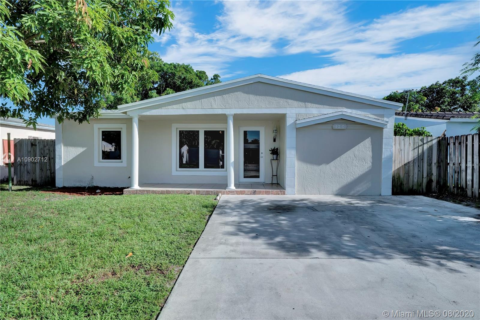 Beautiful home in a great location. New impact windows and doors. Newer roof from 2018. Tile floors throughout the house. Granite counters in the kitchen. New pantry doors. Fenced backyard with a lot of space. Palm trees in the backyard. Spacious driveway.